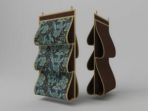 Кофр для сумок, двусторонний, 5 карманов, 40х70см 1309