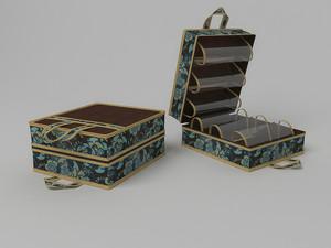 Чемоданчик для хранения обуви на 6 пар, 35х40х20см 1313