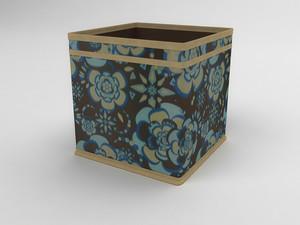 Коробка - куб (жёсткий) 22х22х22см 1340