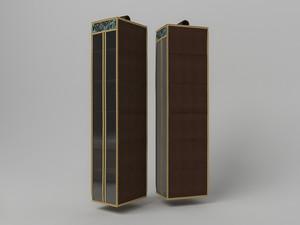 Подвесной кофр (органайзер) для обуви и бытовых мелочей 120х22х30см. 1320
