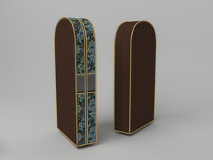 Чехол двойной для одежды большой, 60х130х20см 1304