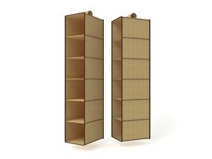 Подвесной кофр (органайзер) открытый для обуви и бытовых мелочей 120х22х30см. 1420/0