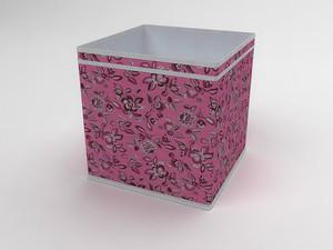 Коробка - куб (жёсткий) 32х32х32см 10038
