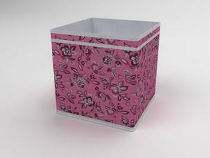 Коробка - куб (жёсткий) 27х27х27см 10039