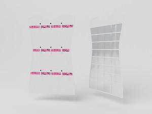 Органайзер для аксессуаров и бижутерии 75х45см. 10019