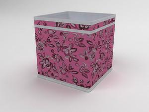 Коробка - куб (жёсткий) 22х22х22см 10040