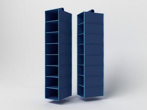 Подвесной кофр (органайзер) открытый для обуви и бытовых мелочей 120х22х30см. 1720/0