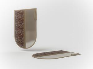 Сумочка-чехол для одной пары обуви, 45х30см 1215