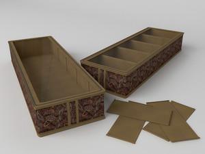Короб для обуви на 5 ячеек 26х78х12  1236