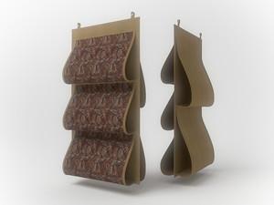 Кофр для сумок, двусторонний, 5 карманов, 40х70см 1209