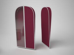 Чехол для хранения шубы 60х160х10 см. 1629