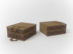 Чемоданчик для хранения обуви на 6 пар, 35х40х20см 1213
