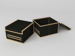 Короб для хранения (жесткий) 25х27х17см 743