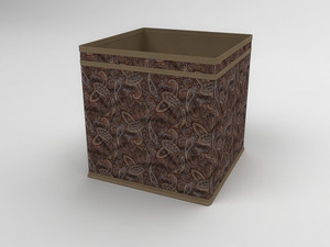 Коробка - куб (жёсткий) 27х27х27см 1239
