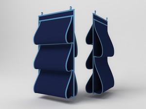 Кофр для сумок, двусторонний, 5 карманов, 40х70см 1709