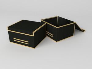 Короб для хранения (жесткий) 35х30х20см 742