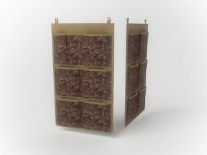 Кофр для аксессуаров, 7 карманов, 35х60см 1208
