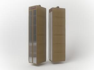 Подвесной кофр (органайзер) для обуви и бытовых мелочей 120х22х30см. 1220