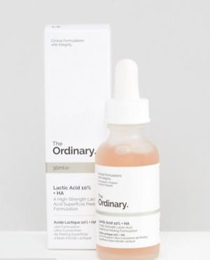 Молочная кислота 10% + HA-кислота The Ordinary - 30 мл 986238