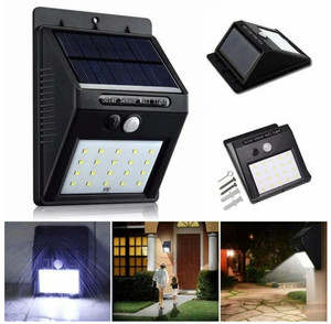 Светодиодный уличный светильник с датчиком движения и солнечной батареей Solar Powered Led Wall Light