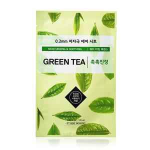 Etude House Тканевая маска для лица Зеленый Чай 0.2 Therapy Air Mask Green Tea