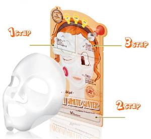 Elizavecca 3-Step Aqua White Water Illuminate Mask Pack