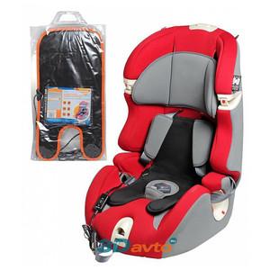 Подогрев сиденья со спинкой AIRLINE 12V 22Вт на детское автокресло 1-2 группы (1-7лет) с терморегулятором