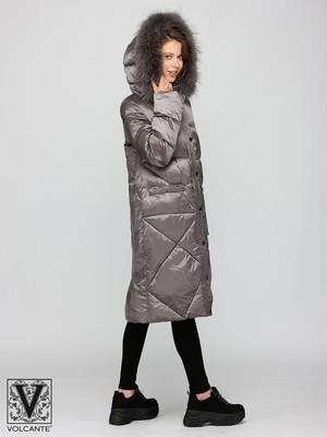 VLF 190116 - rock grey Пальто утепленное женское