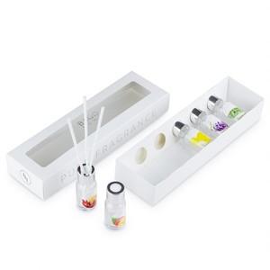Набор ароматических настольных диффузоров BAGO HOME Ориджиналс 2 (5шт по 10 мл. манго, марула, ваниль, лаванда, утренняя роса)