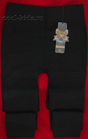 Зувэй бесшовные чёрные кашемировые термолосины с мехом арт. 3388