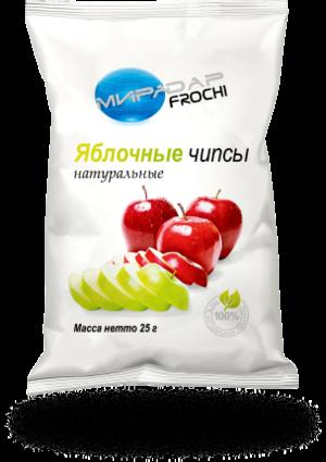 Яблочные чипсы натуральные (25 г)