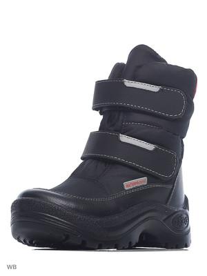 254050-97 Ботинки, ФИНЛЯНДИЯ, цв.черный