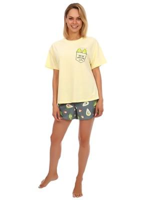 Пижама женская Стиль (шорты) темный