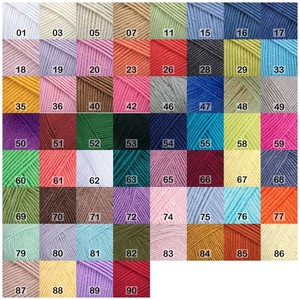 Пряжа YarnArt Jeans 55% хлопок 45% полиакрил, 160 м, 50 г
