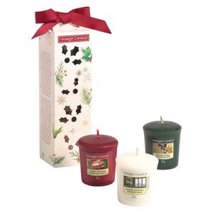 Набор: 3 аромасвечи для подсвечника( адвент)