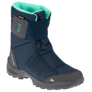 Сапоги для защиты от снега теплые водонепроницаемые женские средние SH100 X-WARM QUECHUA (арт. 8367575)