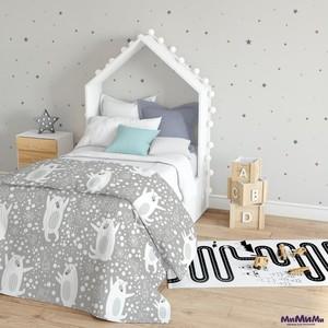 Плед для кроватки «Северный медведь» 110×140 см арт. ПЛ154-5