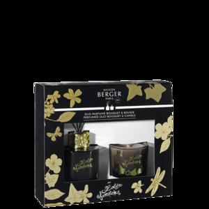 (подарочный набор свеча 80 гр + аромадиффузор 80 мл) Лолита Лемпика черное издание