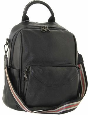Рюкзак кожаный Farfalla Rosso R 8022