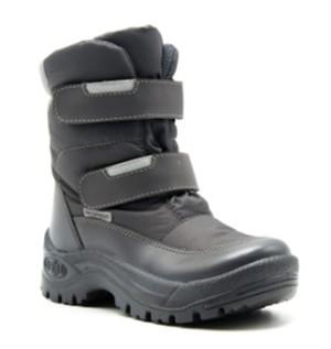 254050-10 Ботинки, ФИНЛЯНДИЯ, цв.серый