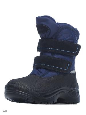 254057-31 Ботинки, ШВЕЦИЯ, цв.темно-синий
