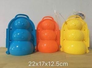 Форма для снега Снеговик (пластик) (в сетке) СЛ-1554, (Рыжий кот)