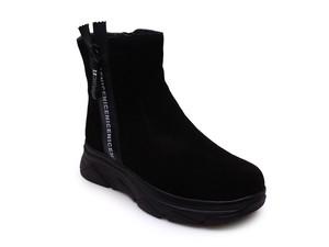 KENKA TQW1765-673 Ботинки зим. Черный дев. 35-40