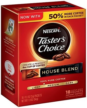 Nescafé Taster's Choice Instant Coffee, House Blend, 2 гр