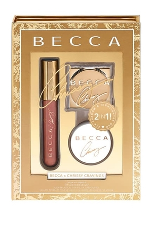 BECCA Cosmetics Chrissy Cravings 3-Piece Glow Recipe Kit