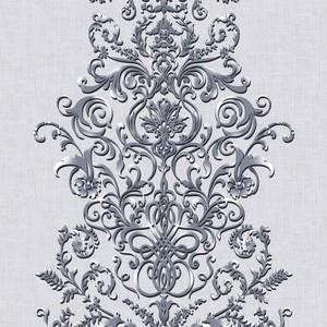 Ткань на отрез дорожка 50 см 30131/1 Филигрань
