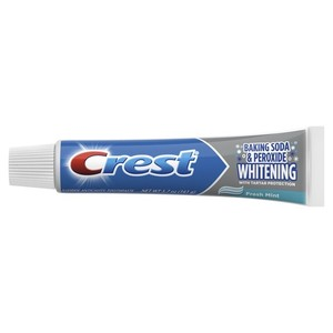 Crest Toothpaste, Whitening Baking Soda and Peroxide, 5.7 oz, (161 гр.)