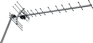 Антенна наружная активная Меридиан-12AF для цифрового эфирного телевидения DVB-T2 0190