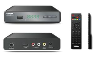 Приемник цифровой CADENA 1651 для приема цифрового ТВ DVB-T2 0532