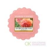 Тарталетка восковая Персиковая роза